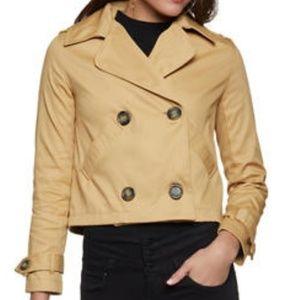 Jackets & Blazers - ⚡Weekend Sale⚡Crop Trench Coat